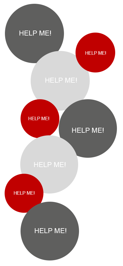 all-connect Help-me dots