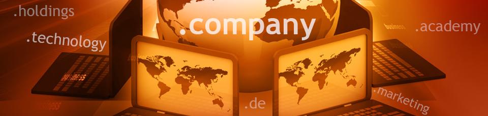 Computer mti den neuesten Business Top Level Domains versehen