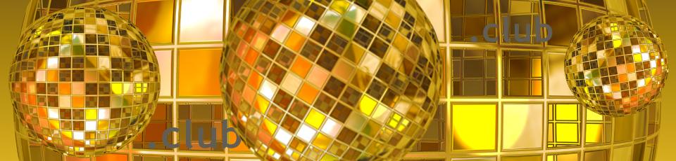 Eine Discokugel soll symbolisch für die neue Domainendung .club stehen