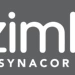"""zimbra Logo mit der Einblendung """"Wir sind Partner"""""""